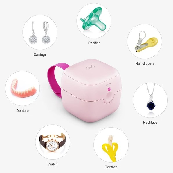 UVC Mini Sterilizer box S6 for baby pacifier