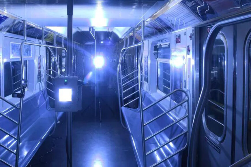 NYC Disinfection of trams