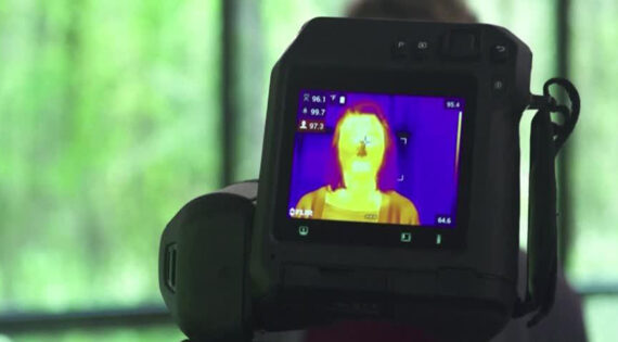 Amazon uses thermal cameras