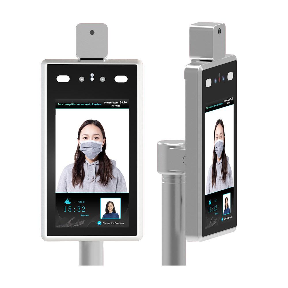 Temperature control and facial recognition camera